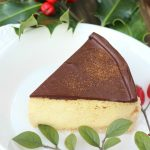 Eggnog Cheesecake ~ no bake, gluten-free, paleo/primal, keto option, GAPS option #eggnogcheesecake #nobakecheesecake #paleoprimalcheesecake #glutenfreecheesecake #christmascheesecake #ketocheesecake