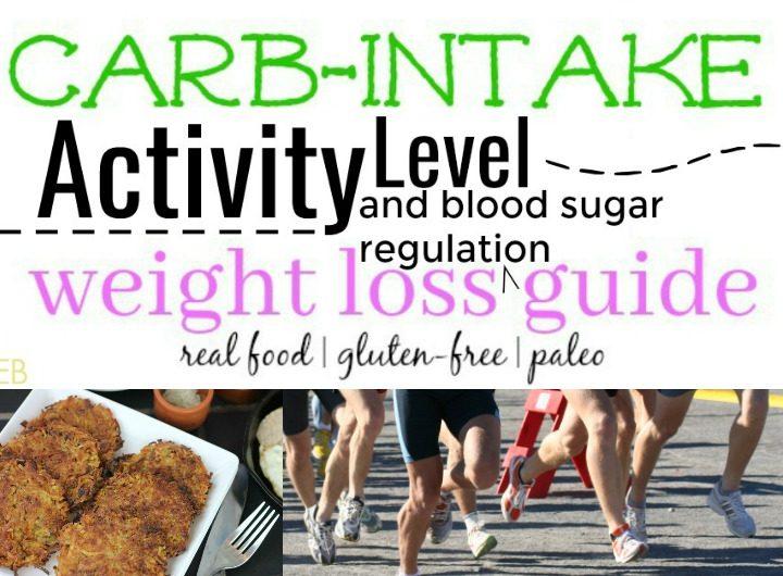 carb-intake-activity-level-weight-loss-blood-sugar-guide; freeimages.com/EinarHansen