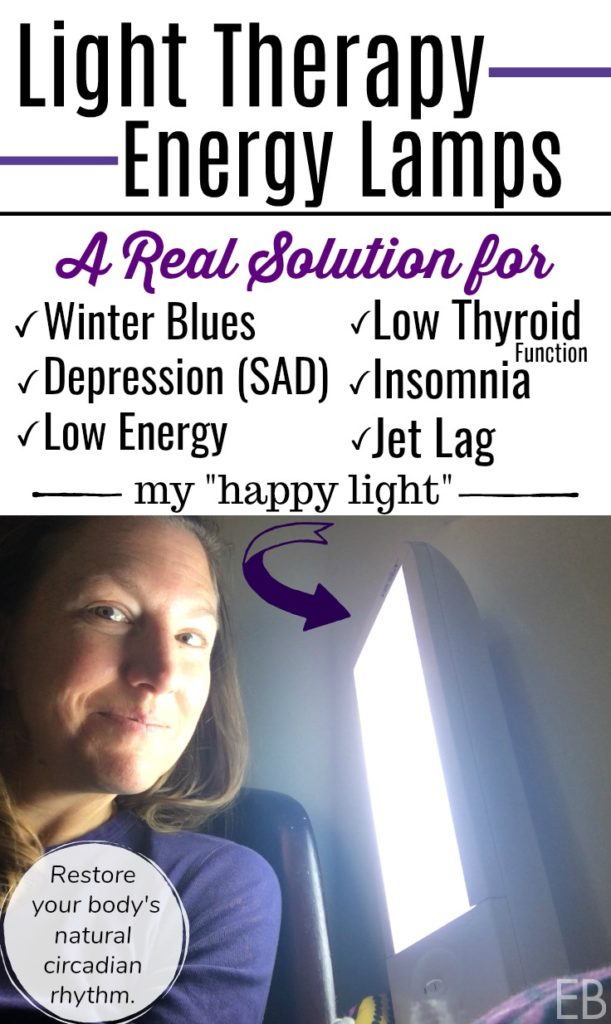 Light Therapy Energy Lamps: A Real Solution to Winter Blues and Depression, Low Energy, Low Thyroid Function, Insomnia and diagnosed SAD