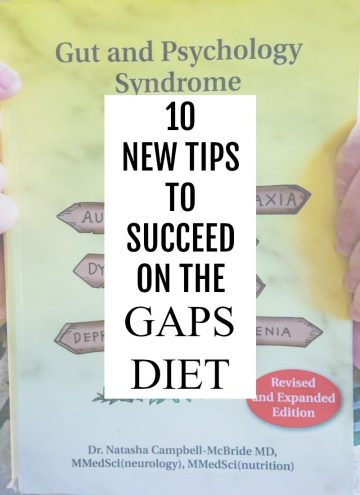 10 NEW TIPS TO SUCCEED ON GAPS DIET BANNER