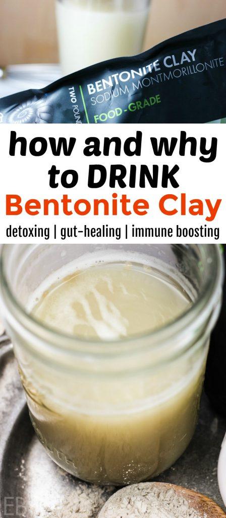 Bentonite Clay Drink (for detox)