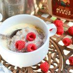 bowl of instant pot buckwheat porridge