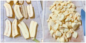 how to prepare plantains for aip brownies