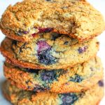 4 paleo aip cookies stacked on each other