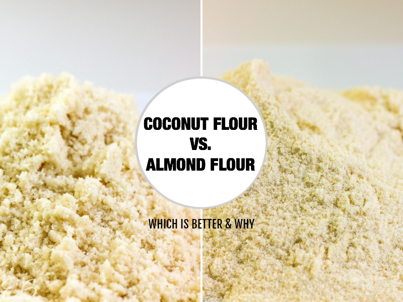 images of coconut flour and almond flour