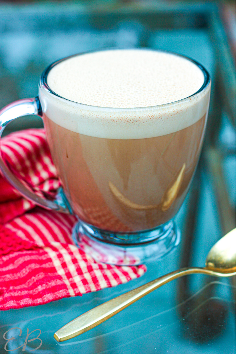 one cup of bulletproof hot chocolate