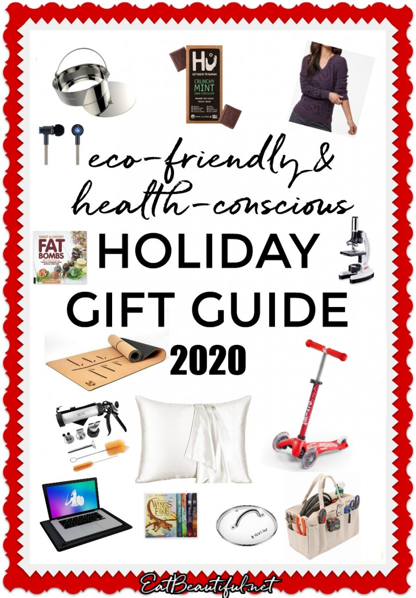 holiday gift guide 2020 words with images of all the gifts