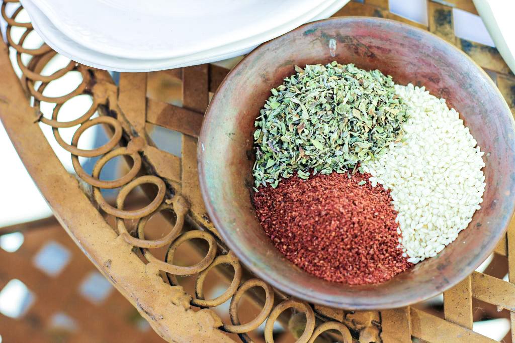 za'atar spices in a bowl