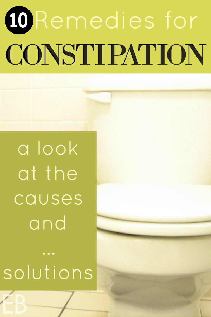 """image of a toilet with article """"10 Remedies for Constipation"""""""