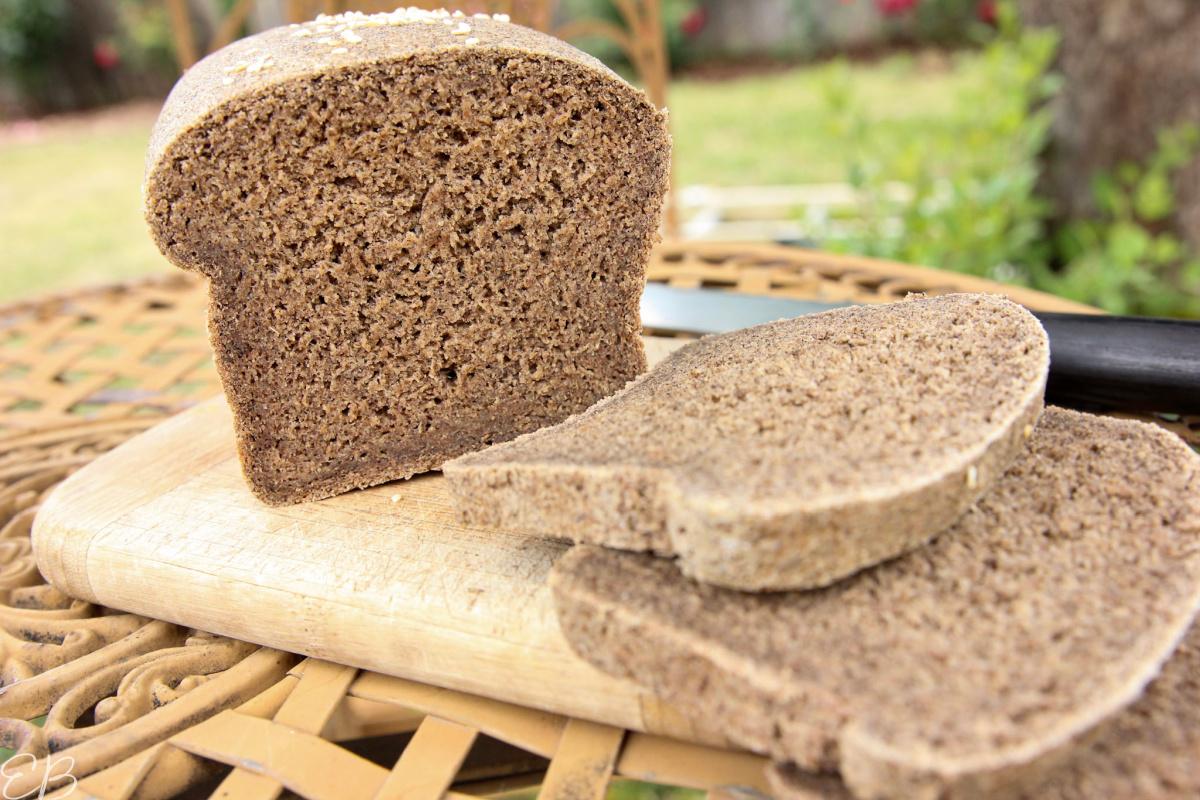 up close look at gluten free vegan oat bread