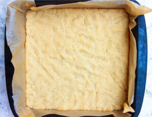 baked dough process photo