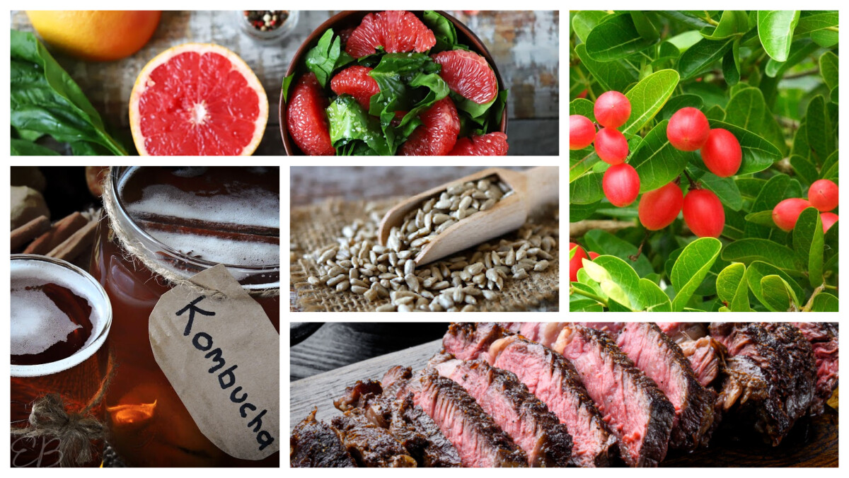 5 photos of foods that affect mental health