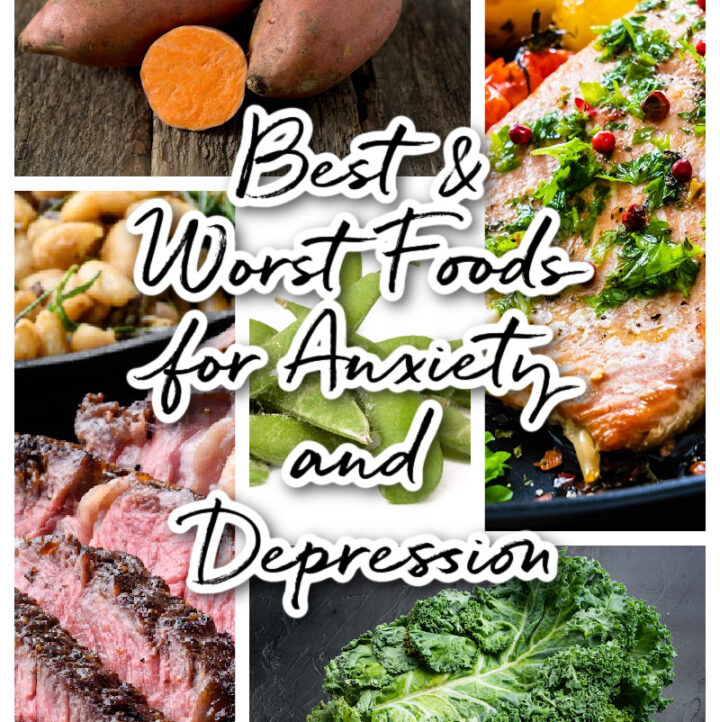 5 photos of foods that affect anxiety and depression