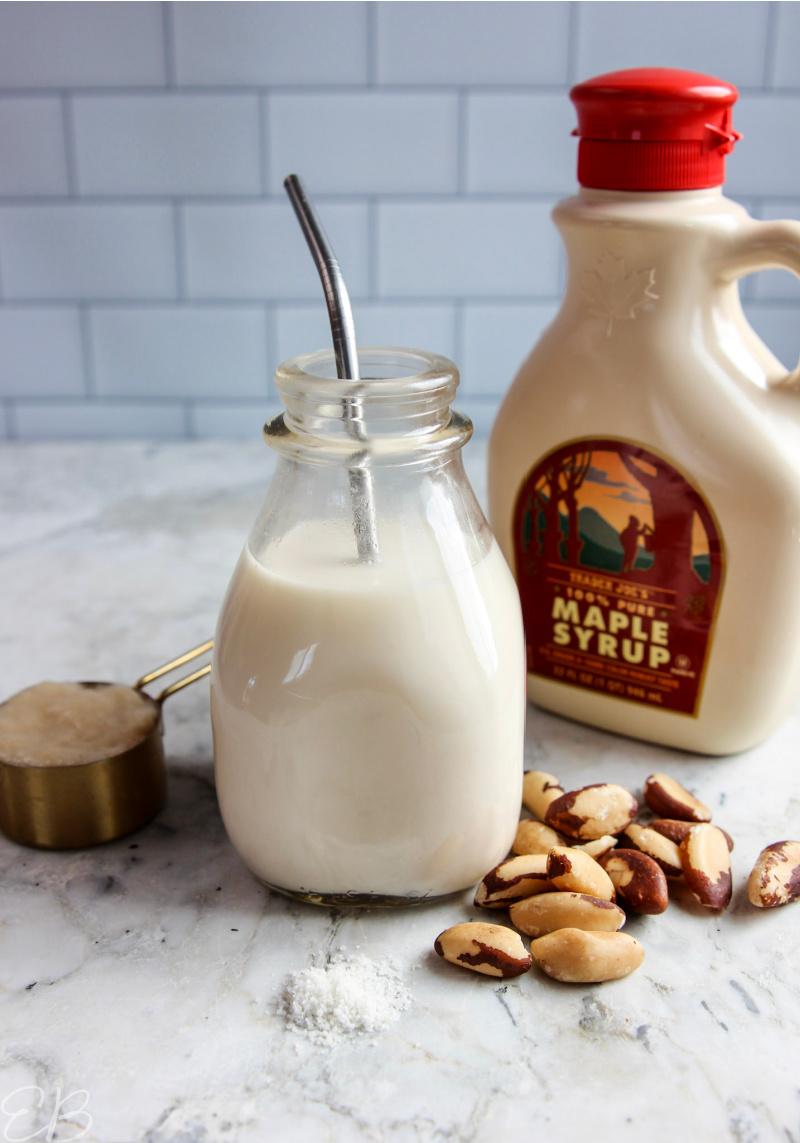 ingredients in fermented nut milk